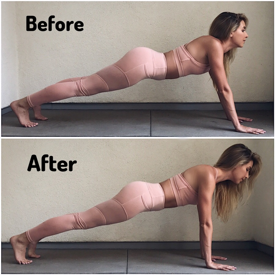 Yoga Tip – High Plank & OutfitDetails